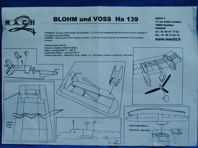Blohm & Voss HA 139 / Mach 2, 1:72. Imag0011