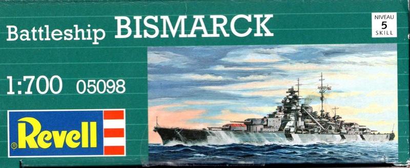 """Die """"Bismarck"""" in 1:700 von Revell. Img31311"""