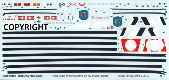 """Die """"Bismarck"""" in 1:700 von Revell. Img31410"""