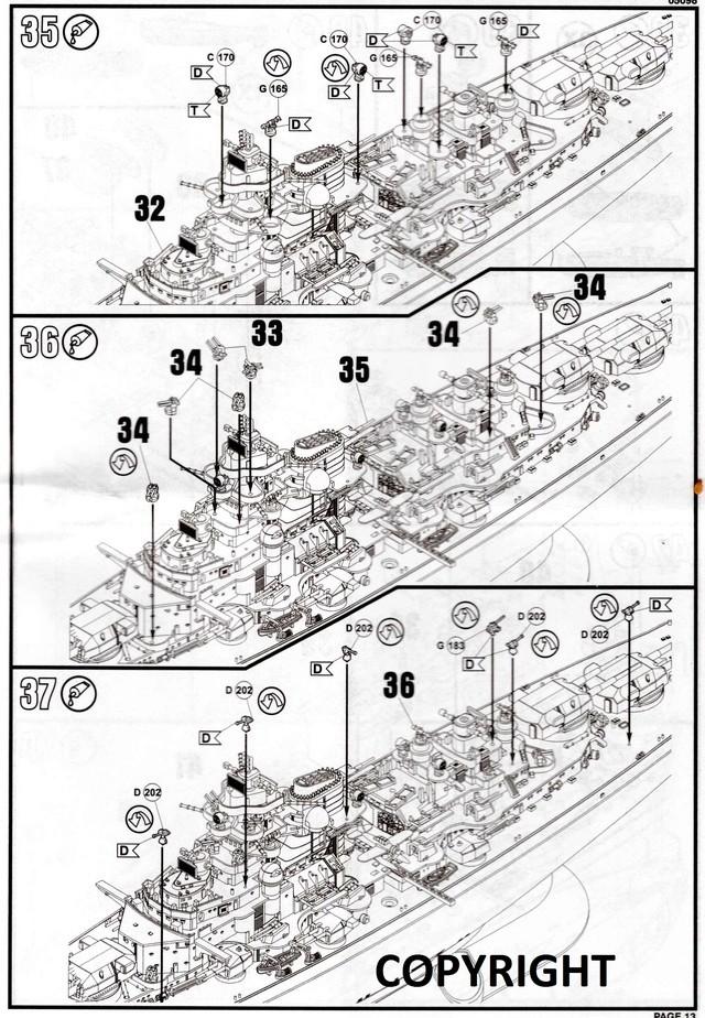 """Die """"Bismarck"""" in 1:700 von Revell. Img32510"""