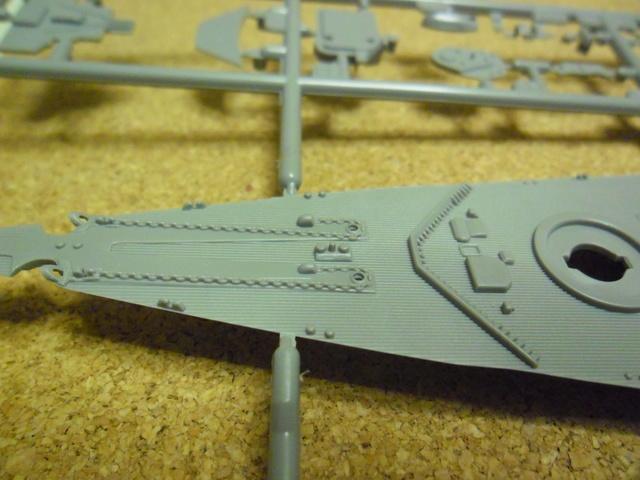 """Die """"Bismarck"""" in 1:700 von Revell. Sam_1315"""