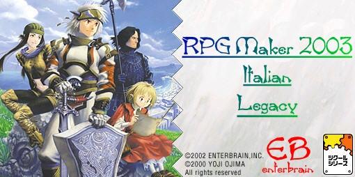 RPG Maker 2003 Italian Legacy