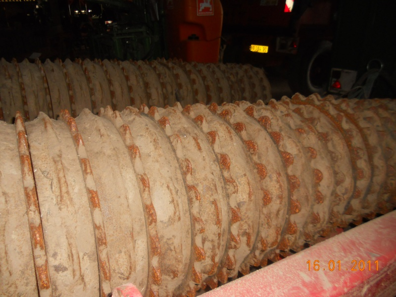 Quel type de rouleau pour les céréales. 00318