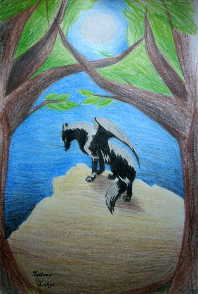 Wolf under The Moon Dscn0714