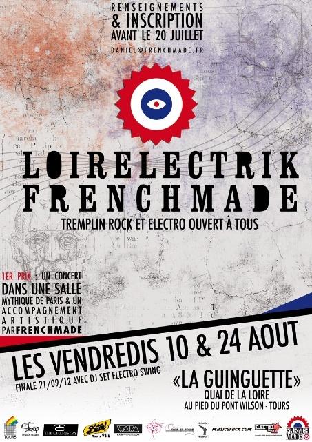 Tremplin LoirElectrik le 24 aout à la Guinguette Loirel11