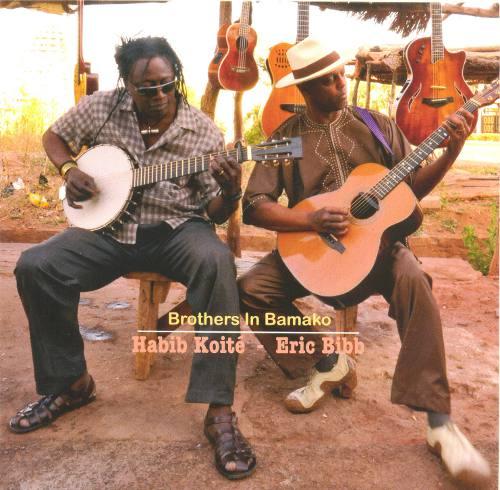 Eric Bibb et Habib Koite-Brothers in Bamako Eric-b10