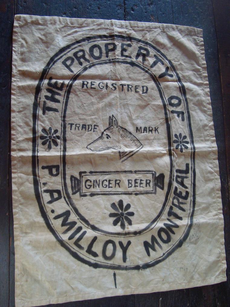 pièce de publicité P. A. Milloy Montréal Dsc04411