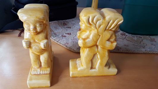 Is there any value to this pair of Walrich Pottery Figurines or Bookends? Walric18