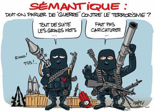 ... a démontré que l'on se trompe de débat. Il ne s'agit pas plus «d'être unis» que de «protéger l'Etat de droit». Le peuple français est uni et vit dans un Etat de droit. B7oenc10
