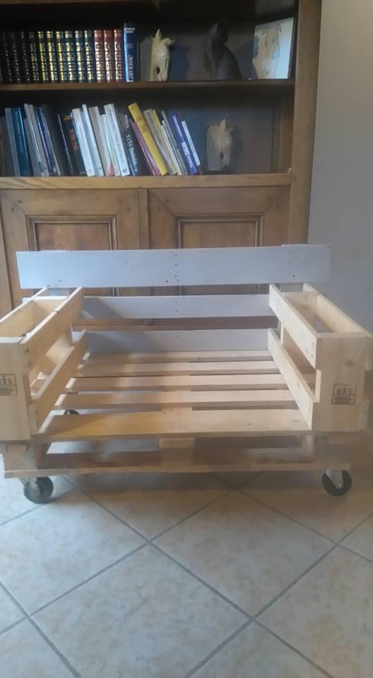 Canapé lit pour nos loulous. 13321610