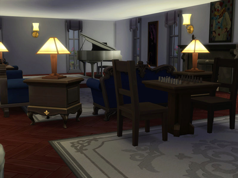 MerryWiddow's Sims 4 Building and WIP Showcase Baseme10