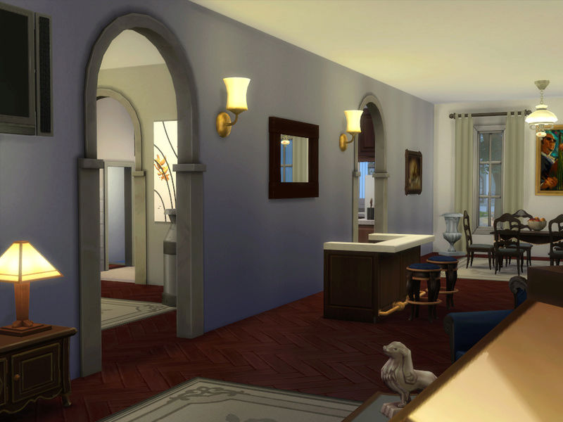 MerryWiddow's Sims 4 Building and WIP Showcase Dining11