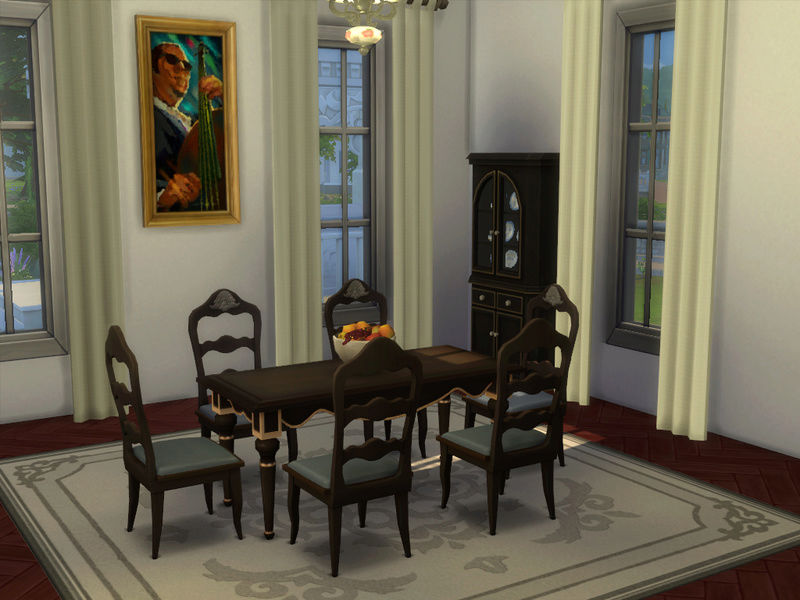 MerryWiddow's Sims 4 Building and WIP Showcase Dining12