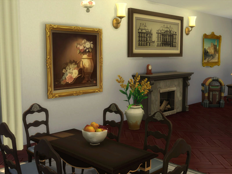 MerryWiddow's Sims 4 Building and WIP Showcase Dining13