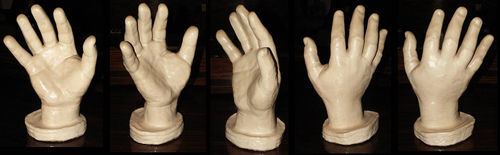 CLASSIC HAND CASTS: Beethoven, Chopin, Listz + more! 74596410