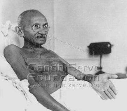 Mahatma Gandhi (1869-1948) - spiritual leader of India Mahatm11