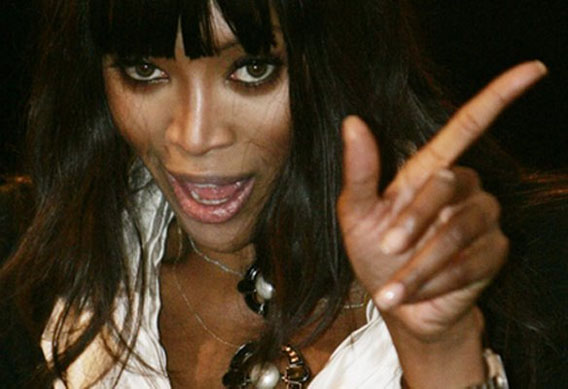 NAOMI CAMPBELL - the British supermodel Naomi-12
