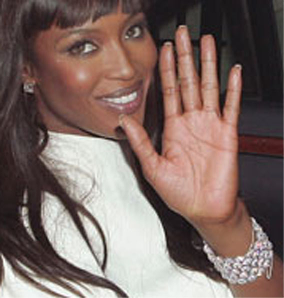 NAOMI CAMPBELL - the British supermodel Naomi-13