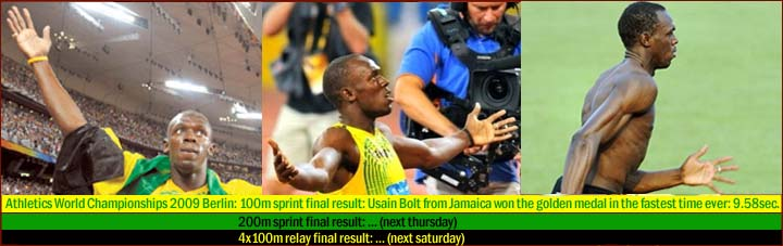 Usain Bolt (Jamaica) - the fastest sprinter ever! Usain-10