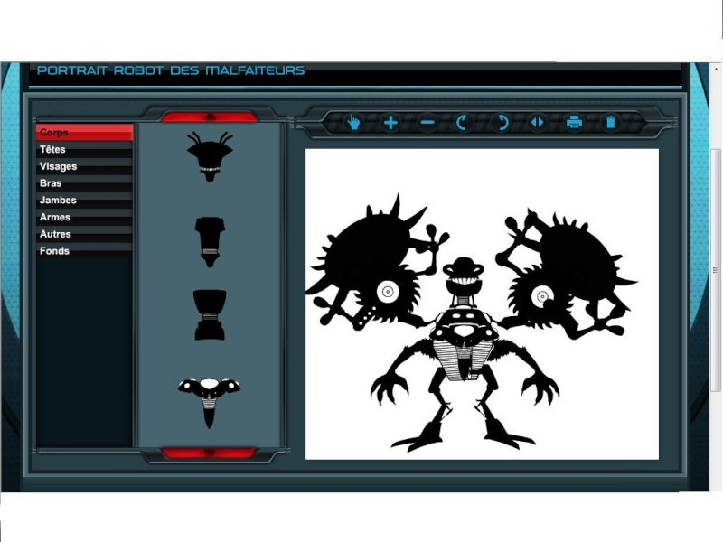 [Fan-Art] Vos portraits-robots du site officiel Hero Factory - Page 4 Sans_t11