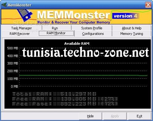 تحميل برنامج يضاعف رامات جهازك ل512 ميجا و 1 جيجا MemMonster 4.70 18549_10