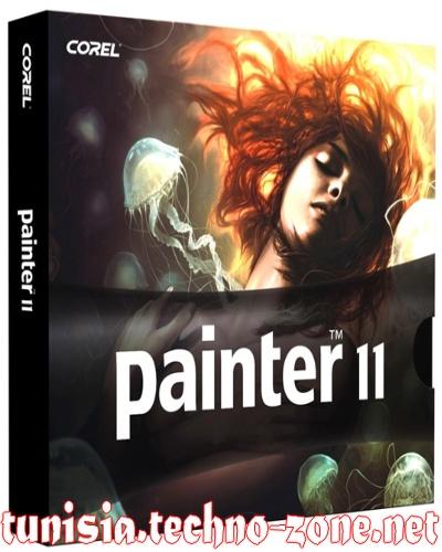 تحميل برنامج التعديل و الكتابة و اضافة تاثيرات ضوئية للصور احترافي Corel Painter 11 1_bmp21