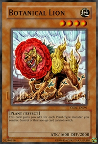 Card of the week #2 (  Level 6 or lower Plant-type Monster ) Csoc-e10