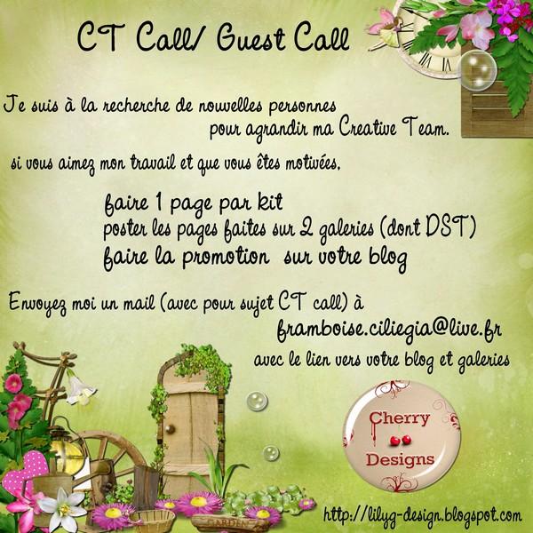 CT call et guest call CherryDesign Cherry15