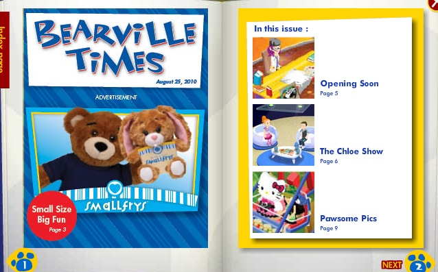 New Bearville Times- Free Gift! Back_b30