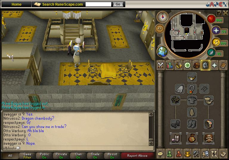 Post your awesome rs account lol mines gangsta! Untitl10