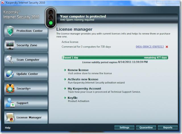 تحميل برنامج الحماية مع مفاتيح متجددة يوميا Kaspersky Internet Security & Antivirus 2010+Keys  2lbibf10