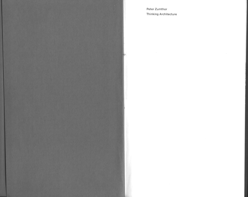 peter zumthor: thinking architecture (ENG-FRA) P10