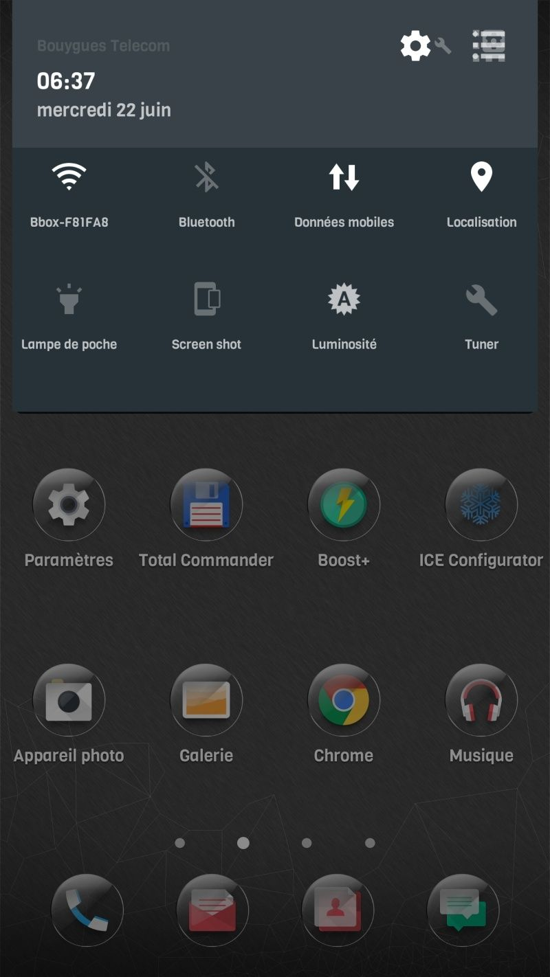 [ABANDONNÉ] NOUGAT | ICE 10 V3.6.0 | WiFi Calling, VoLTE, SafetyNet | Stable | Fast | Tweaks [01/04/2017] - Page 5 Screen22