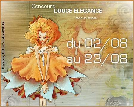 Concours DOUCE ELEGANCE du 02 au 23/08 Logo15
