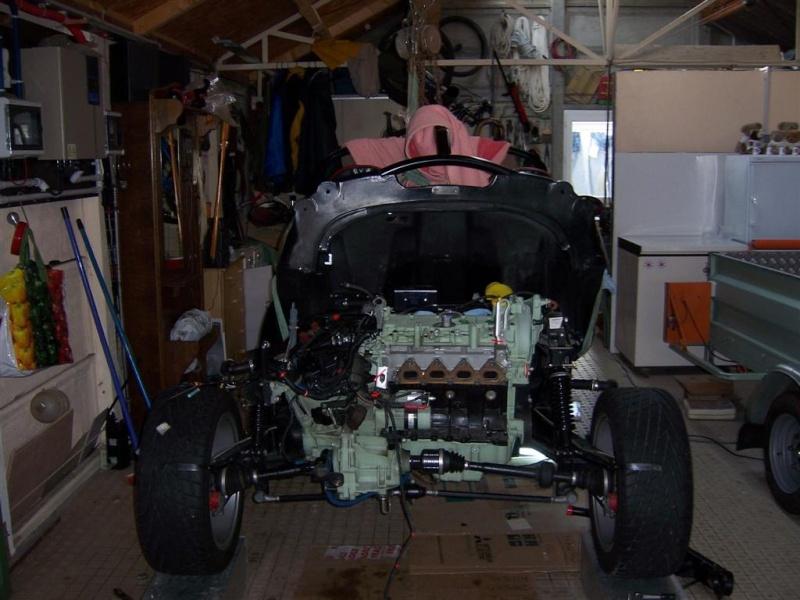 Dépose moteur modification des bras V1 en V2 suivant modèle SECMA 100_4128