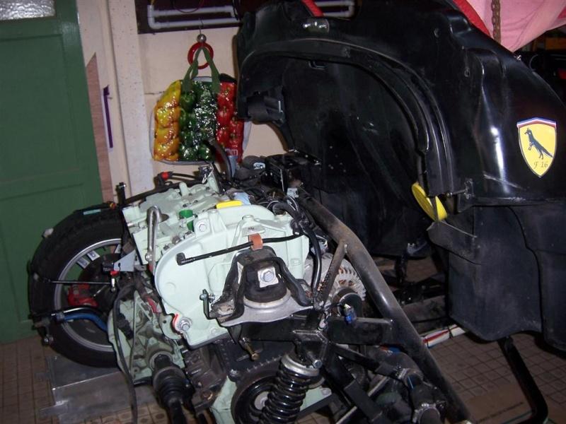 Dépose moteur modification des bras V1 en V2 suivant modèle SECMA 100_4129