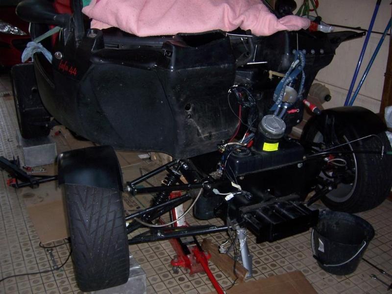 Dépose moteur modification des bras V1 en V2 suivant modèle SECMA 100_4130