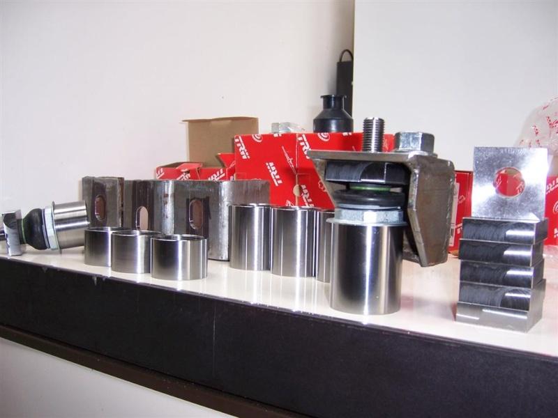 Dépose moteur modification des bras V1 en V2 suivant modèle SECMA 100_4133