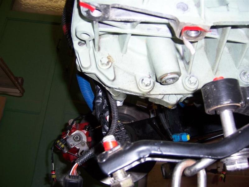Dépose moteur modification des bras V1 en V2 suivant modèle SECMA 100_4225