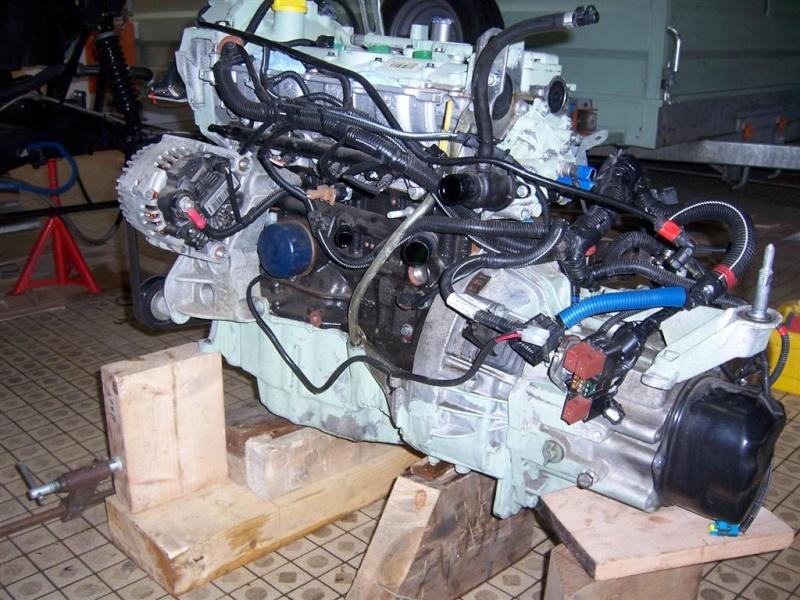 Dépose moteur modification des bras V1 en V2 suivant modèle SECMA 100_4228