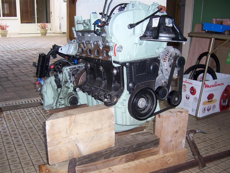 Dépose moteur modification des bras V1 en V2 suivant modèle SECMA 100_4229