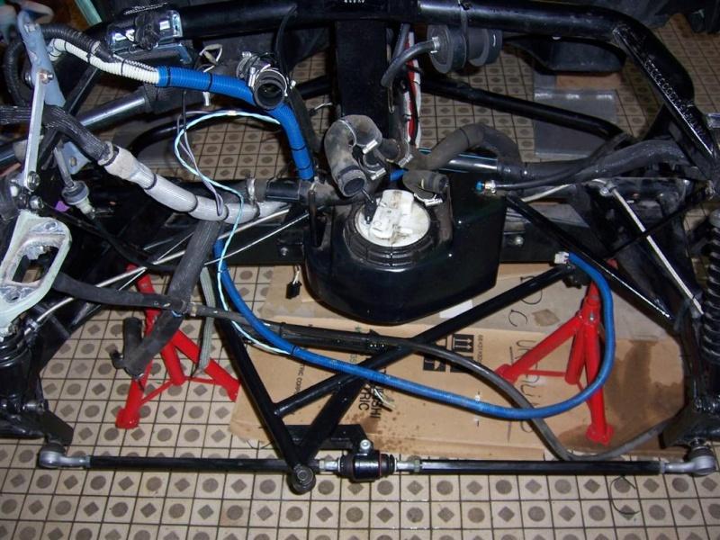 Dépose moteur modification des bras V1 en V2 suivant modèle SECMA 100_4231