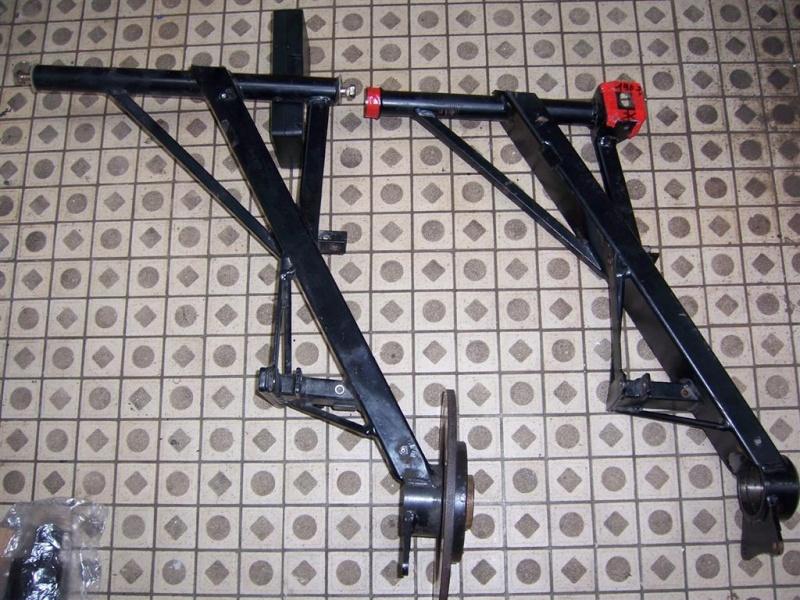 Dépose moteur modification des bras V1 en V2 suivant modèle SECMA 100_4260