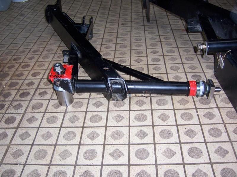 Dépose moteur modification des bras V1 en V2 suivant modèle SECMA 100_4261