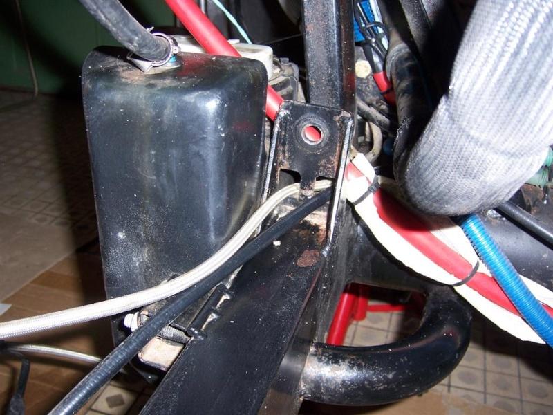Dépose moteur modification des bras V1 en V2 suivant modèle SECMA 100_4262