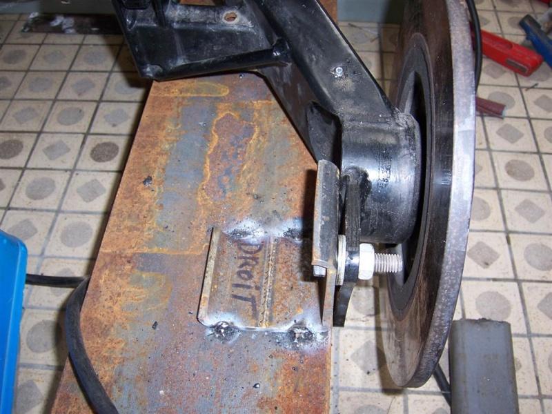 Dépose moteur modification des bras V1 en V2 suivant modèle SECMA 100_4271
