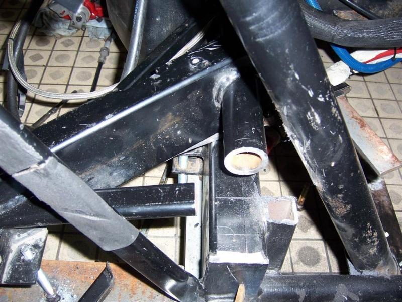 Dépose moteur modification des bras V1 en V2 suivant modèle SECMA 100_4311