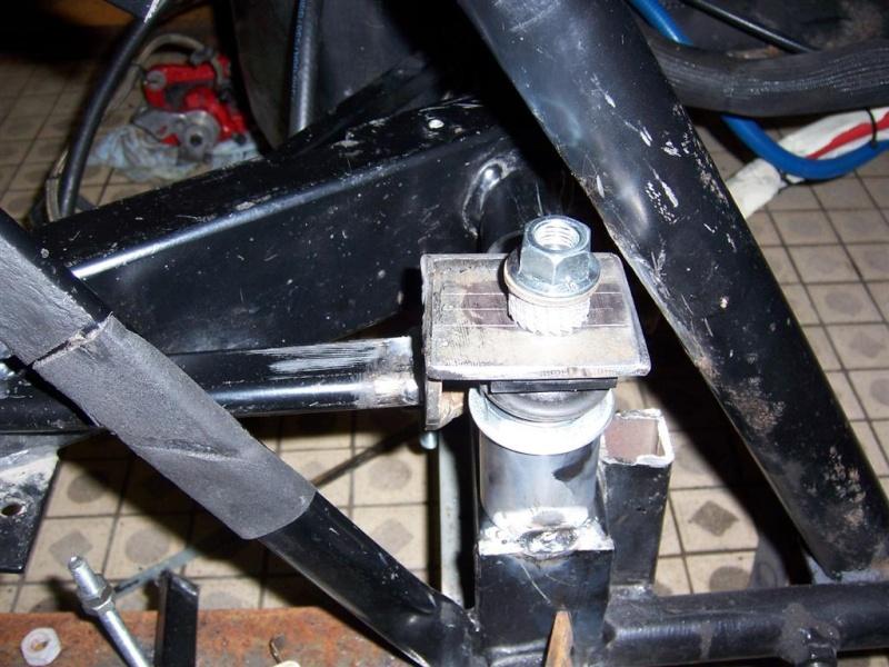 Dépose moteur modification des bras V1 en V2 suivant modèle SECMA 100_4314