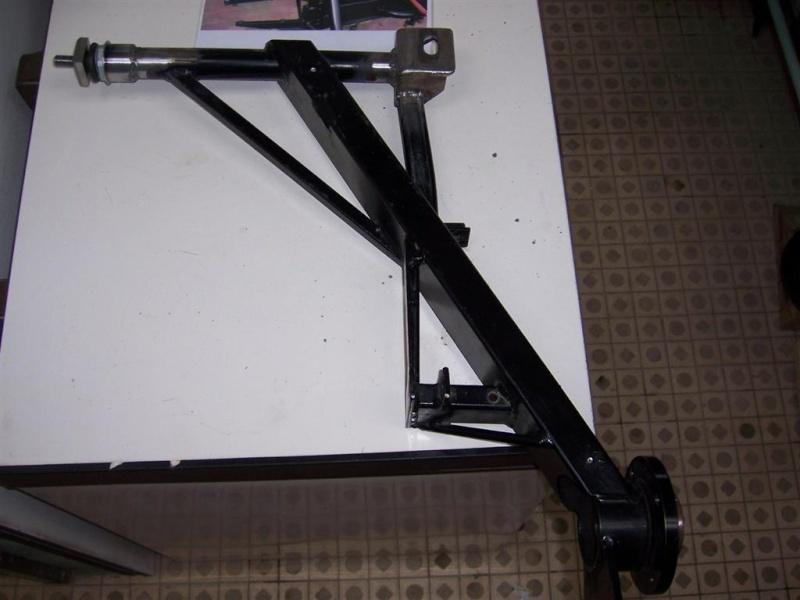 Dépose moteur modification des bras V1 en V2 suivant modèle SECMA 100_4320
