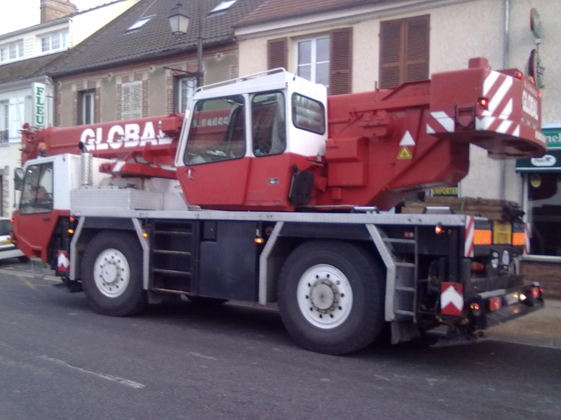 Les grues de GLOBAL Levage (France) 11042011